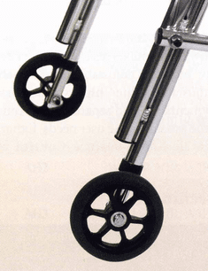 Kaye Products Replacement Silent One-way Rear Wheels & Legs