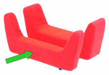 Convaid Seat Extension - 2 inch