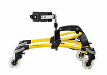 R82 Mustang Gait Trainer, Size 1, YELLOW