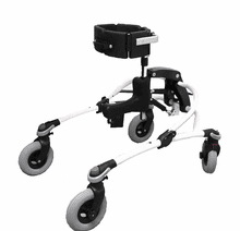 R82 Mustang Gait Trainer, Size 2, WHITE