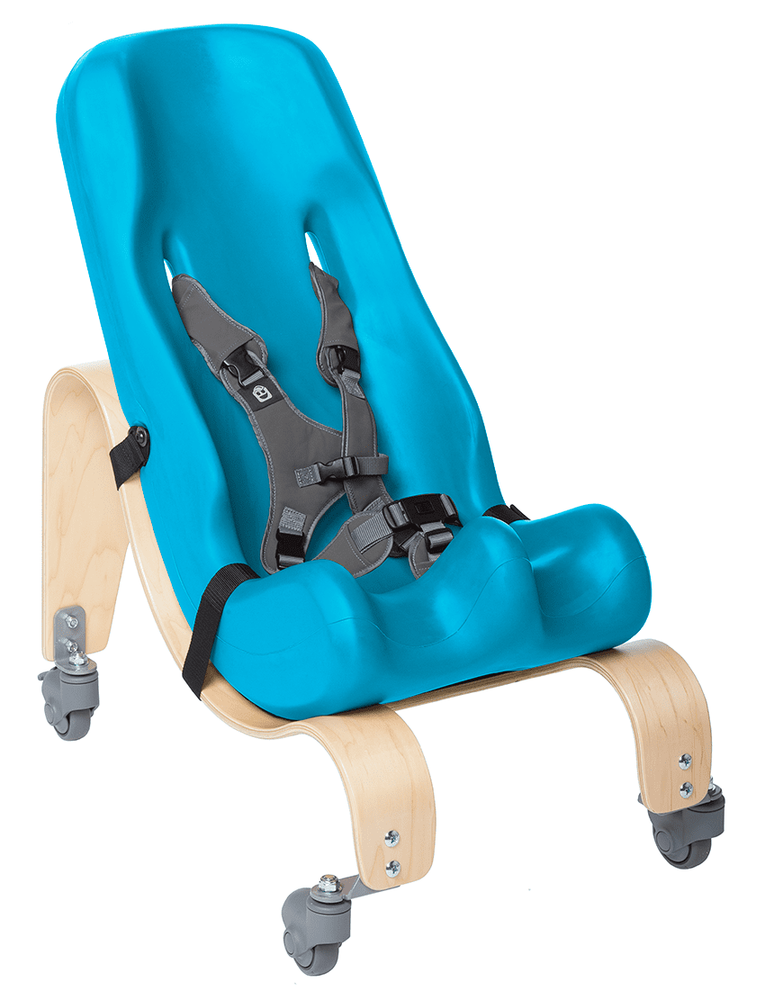 Special Tomato Soft-Touch® Sitter with Mobile Base | Adaptivemall.com