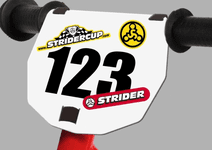 Strider 12 & SS-1 - Numberplate Kit