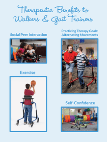 Therapeutic Benefits to Walkers & Gait Trainers