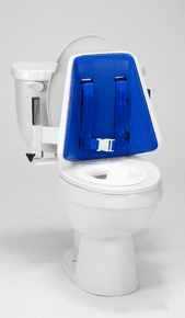 Toilet Supports: Hi-Back with padding