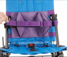 Convaid Trunk Support - Double Flap