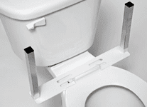 U-Shape Mounting Base Only for Toilet Support and/or Armrests