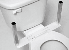 Columbia Medical U-Shape Mounting Base Only for Toilet Support and/or Armrests