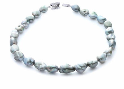 11.5 x 14mm Tahitian Baroque Pearl Necklace