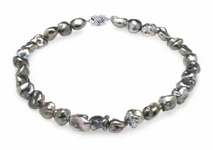 11mm Tahitian Pearl Keshi Necklace