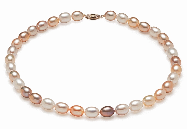 AAA 9mm Multicolor Pearl Necklace