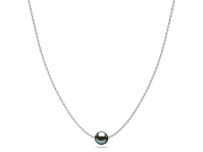 Jesse Blue Tahitian Pearl Necklace