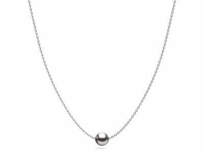 Jesse Grey Tahitian Pearl Necklace