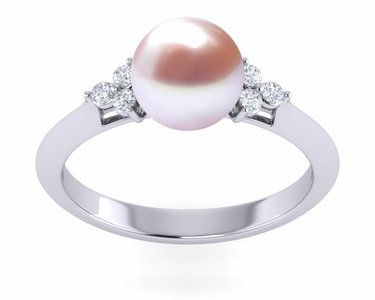 Lavender Freshwater Little Princess Pearl Ring