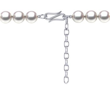 Pearl Necklace Extender with Ingenious S Clasp