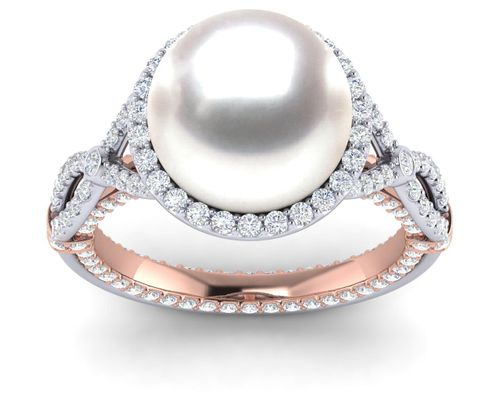 Grand Serendipity Pearl Ring