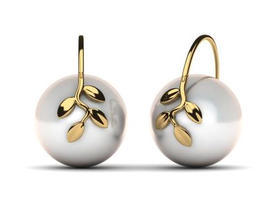 South Sea Pearl Olive Branch