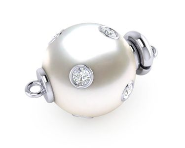 South Sea Pearl Starry Night Clasp