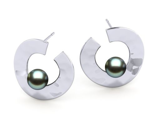 Tahitian Pearl Magic Earring