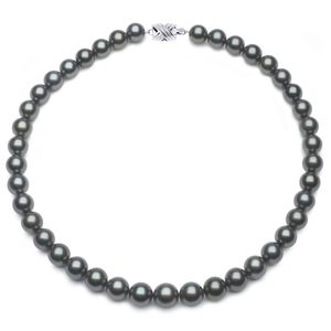 10 x 11.8mm Grey Tahitian Pearl Necklace