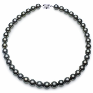 10 x 11.9mm Blue Tahitian Pearl Necklace
