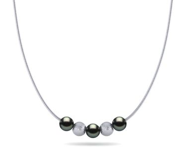 Tahitian Pearl Stardust Necklace