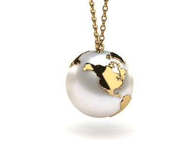The World Is Your Oyster South Sea Pearl Pendant