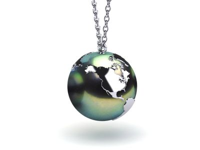 The World Is Your Oyster Tahitian Pearl Pendant