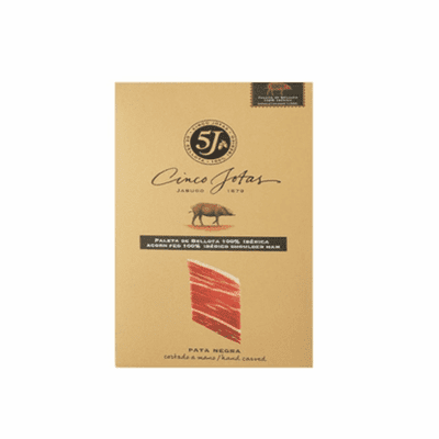 5J Cinco Jotas Pre-Sliced Acorn Fed 100% Iberico Ham - Product of Spain 3 oz