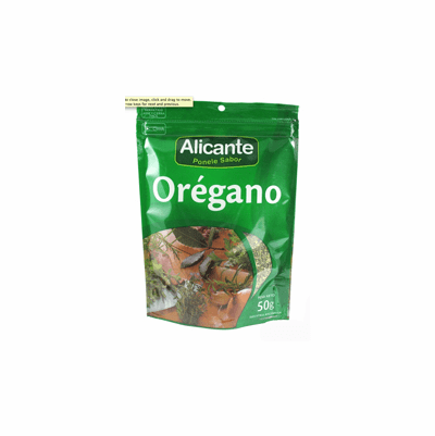 Alicante Oregano 25 grs.