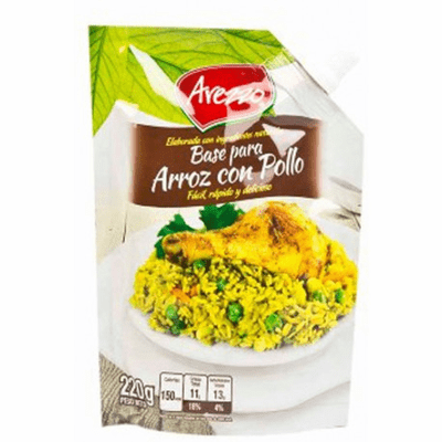 Arezzo Base para Arroz con Pollo ( Chicken and Rice Seasoning) 220g