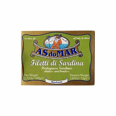 As do Mar  /Ramírez Portuguese Skinless Boneless Sardines in Oil 105 g Tin
