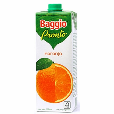 Baggio Pronto Orange Nectar (Naranja) 33.8fl oz
