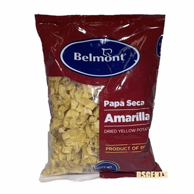 Belmont Papa Seca Amarilla ( Dried Yellow Potato ) Net. Wt 15 oz
