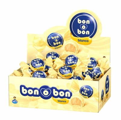 Bon o Bon with Peanut Cream Filling And Wafer 450g(30 units) Blanco