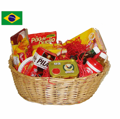 Brazil's Taste of Home Gift Basket