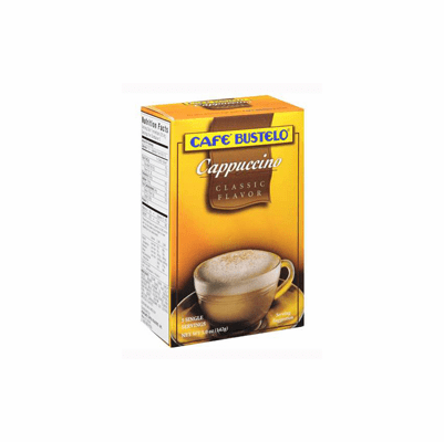 BUSTELO Capuccino Mocha box of 5 oz., 5 single servings
