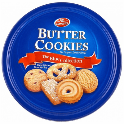 Butter Cookies The Blue Collection (The Original Danish Recipe) 340g