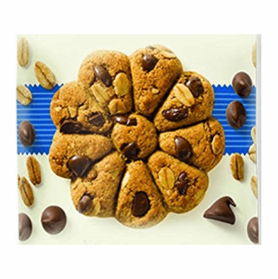 Cachafaz Cookies Rolled oats and chocolate chips Net.Wt 7.9 oz