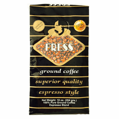 Cafe Fress Espesso Cafe Molido Calidad Superior 10 oz.