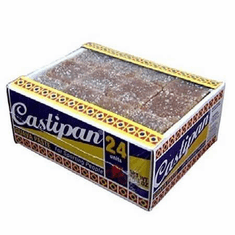 Castipan Guava Paste Bites For Sporting People Net.Wt 10.6 oz (24 Units)