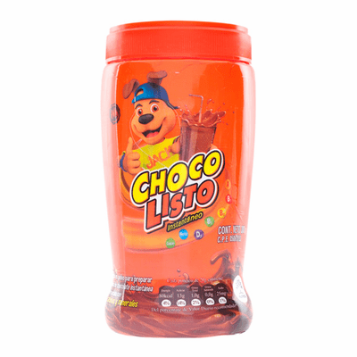 Choco Listo Bebida Instantanea de Chocolate ( Powder Mix to Prepare Instant Chocolate Drink ) NET WT 10.5oz (300g)
