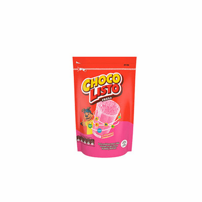 Choco Listo Fresa (Strawberry flavor mix) Net.Wt 200 gr