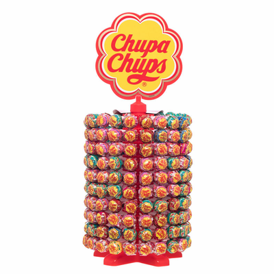 Chupa Chups Wheel The Best Of Lollipops 200 Units Of 12 gr Each One