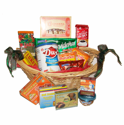 Colombia's Taste of Home Gift Basket