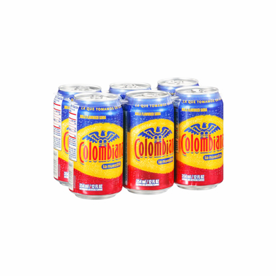 COLOMBIANA Soda 6 Pack12 oz. Cans