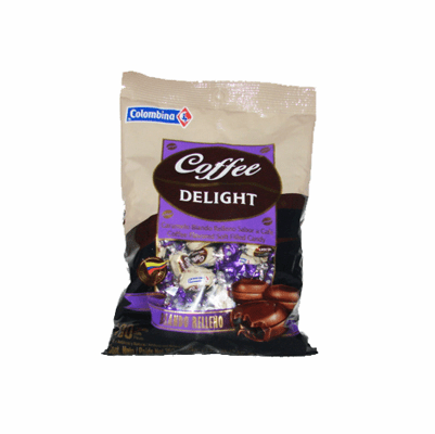 Colombina Coffee Delight Caramelo Blando relleno con sabor a Cafe 15.2 oz.