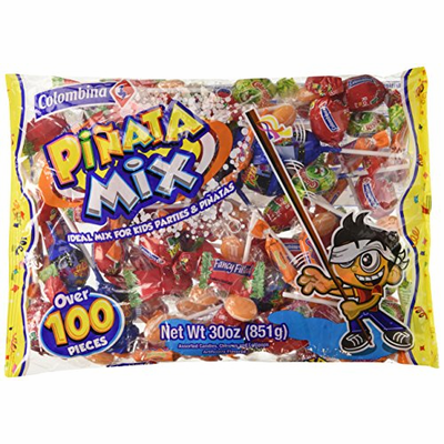 Colombina Pinata mix Over 100 pieces Net Wt. 30 oz