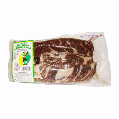 Corte's Carne Seca approximately 1.25 lbs.