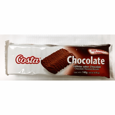 Costa Sabor Chocolate  (Chocolate Flavored Biscuits) 140g