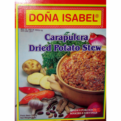 DOÑA ISABEL / PROVENZAL Carapulcra 150 grs.